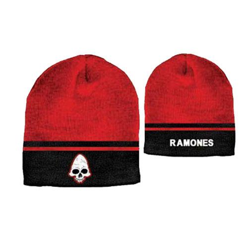 Купи Cappello Ramones, nero e rosso, con logo Ramones e logo del...