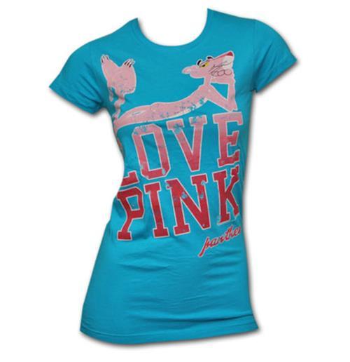 Купи Футболка Розовая пантера, женская, с рисунком на передней части...