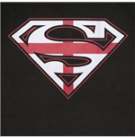Купи Футболка Супермен - Флаг Англии, с логотипом на груди, материал...