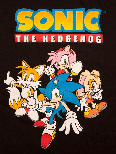 sonic футболка.