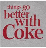 Купи Футболка Кока-кола, с надписью на передней части футболки...