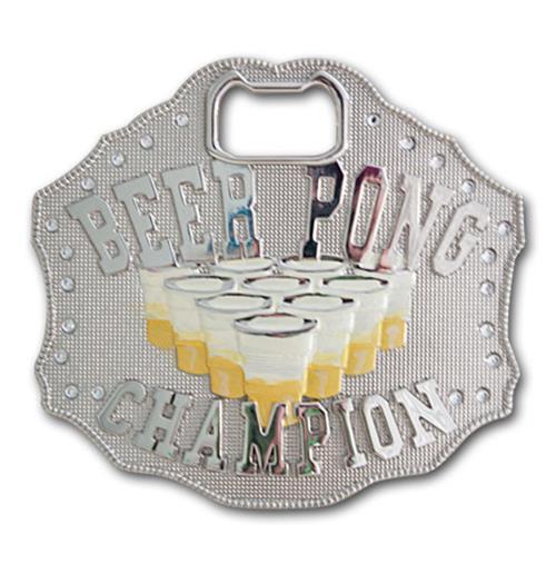 Купи Пряжка-открывашка Чемпион пива-понга.  Нет ничего более ужасного...